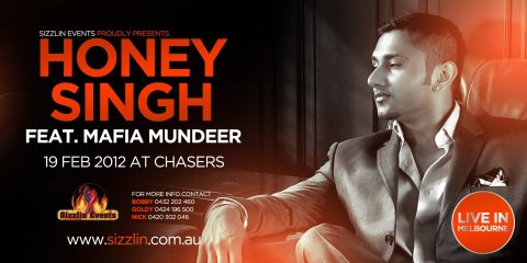 Honey Singh Feat Mafia Mundeer Chasers Live 19th February, 2012