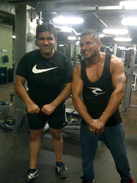 Honey Singh - Hard Work In Gym - Photo 2012