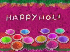 Happy Holi Day 2012 Colorful E-Cards, Wish With Wishing Greetings