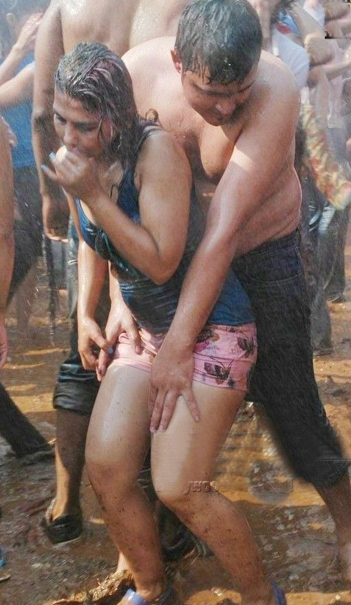 Holi Hot Wet Girls Pictures 2014  5Abi Songs,Latest -3279