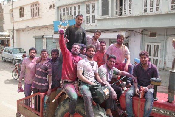 Latest Holi Pics - Rampura Phul, Punjab 2012 - News