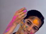 Indian model Poonam Pandey prepares to c