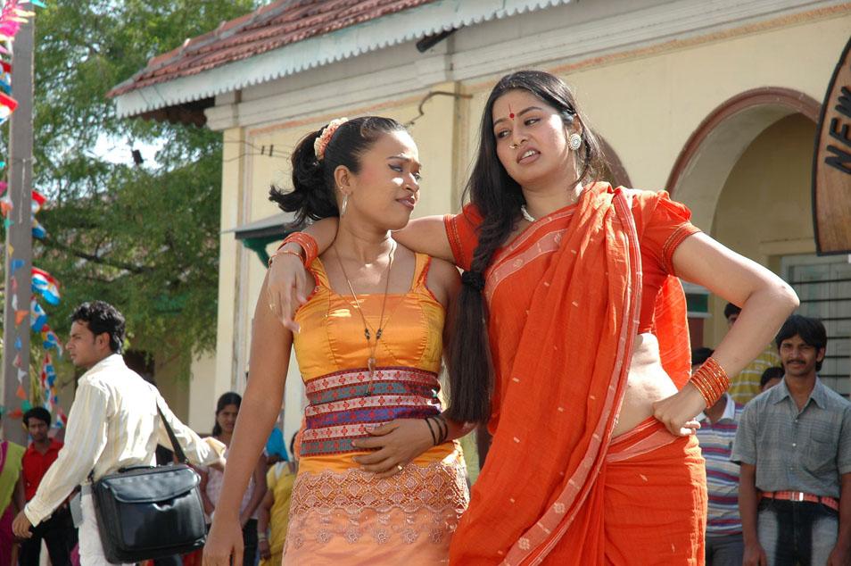 Telugu Actress Sangeetha Hot Scenes In Movie Dhanam  5Abi -8493