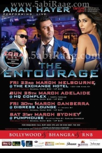 The Entourage - Aman Hayer Live 2012