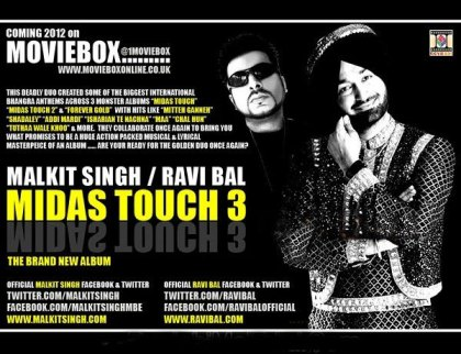 Malkit Singh & Ravi Bal – Midas Touch 3 [Out 2012]