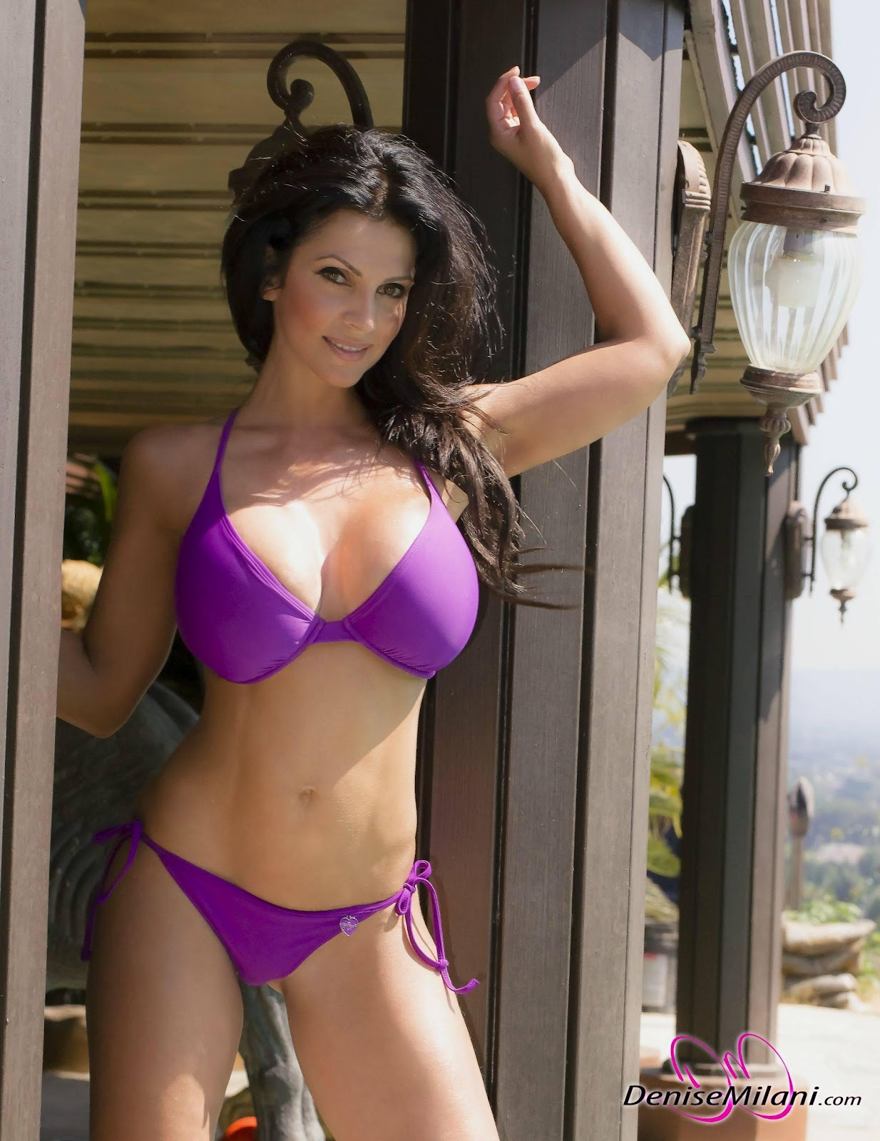 Denise Milani Swim Wear Collection | 5abi Songs,Latest ...