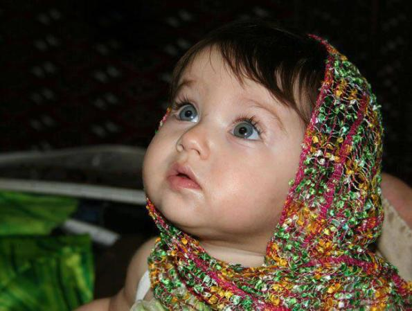 Awesome Eyes - Cute Indian Sweet Little Baby