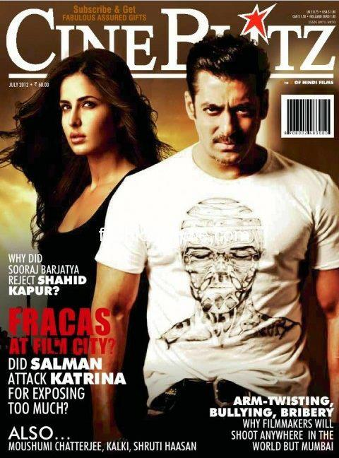 Cine Bitz - Did Salman Attack Katrina For Exposing Too Much
