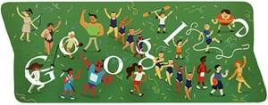 Olympics - London 2012 Closing Ceremony Google Doodle - August 12