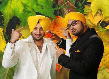 Photo: Inderjit Nikku & Yo Yo Honey Singh