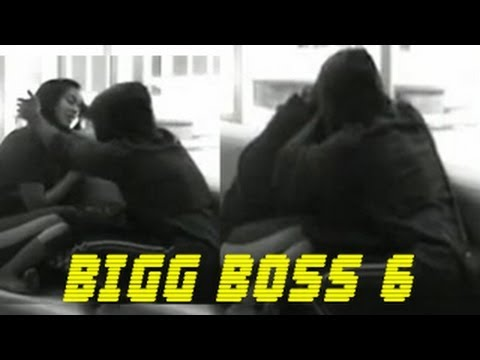 Rajeev Paul KISSES Sana In Bigg Boss 6