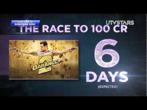 Salman Khan (Dabangg 2) Crosses 100 Crores