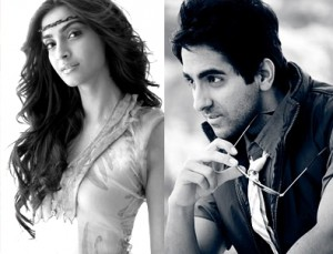 Ayushman & Sonam Kapoor in YRF's Untitled Hindi Movie