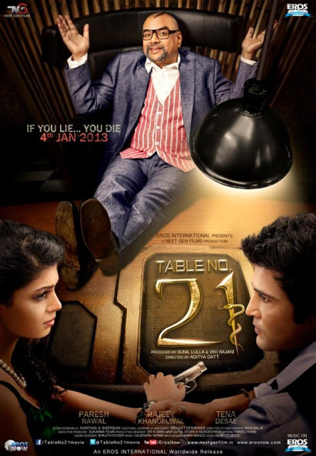 Free world table no 21 2013 hindi movie dvdscr download for Table no 21 songs