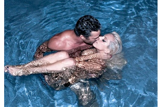 Lady Gaga and Actor Boyfriend Taylor Kinney Go Skinny Dipping