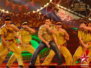 Video: Salman Khan's Performance at Big Star Entertainment Awards 2012