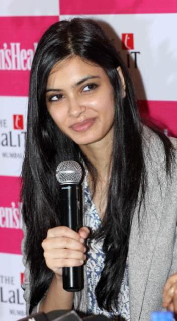 Diana Penty Unveils Women's Health's New Year Double Issue