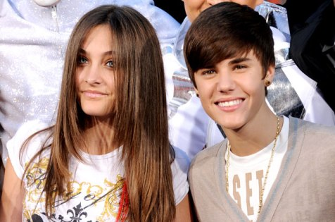 Photo: Paris Jackson and Justin Bieber