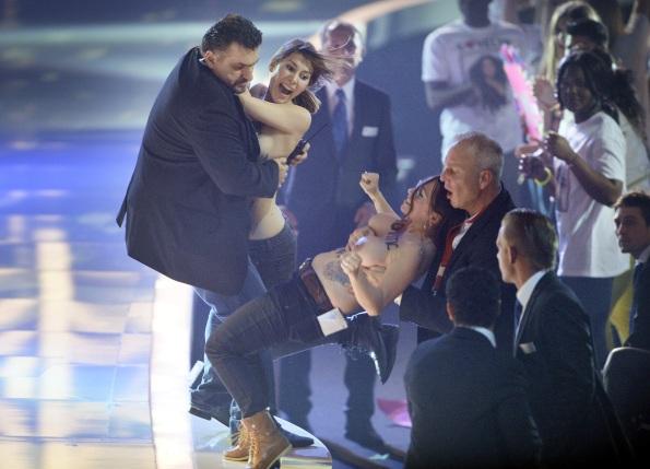 Topless 'Top Model' Protestors Crash Finale On Behalf Of FEMEN (NSFW PHOTOS)5